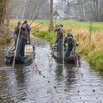 Die Wade ist ein ursprüngliches Fangerät im Spreewald