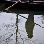 Wo sich der Fischer im Wasser spiegelt